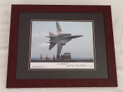 Signed, Framed Photo